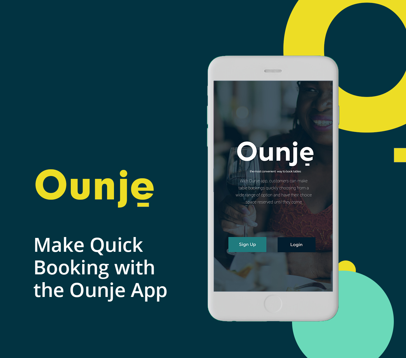 User-centered inteface - Ounje app - Vibratiquehub